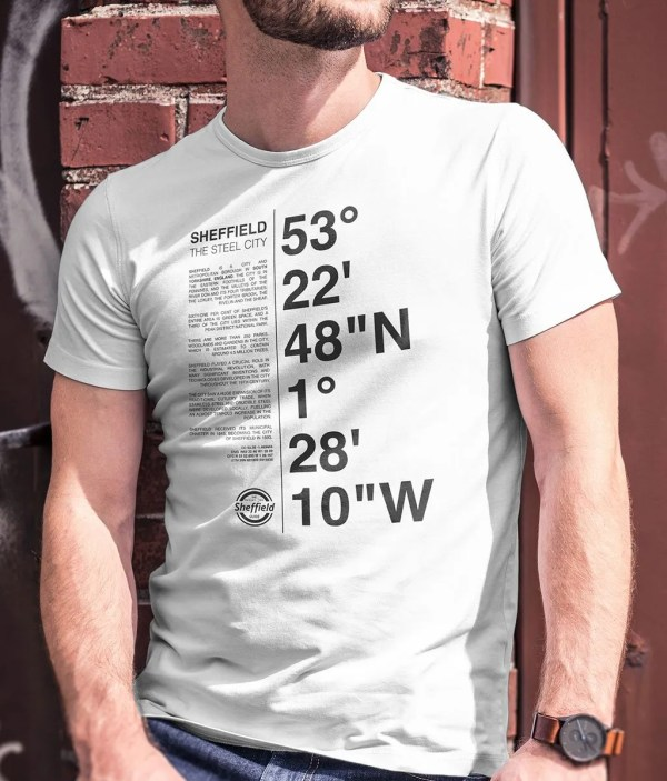 Sheffield Coordinates T-Shirt (White)
