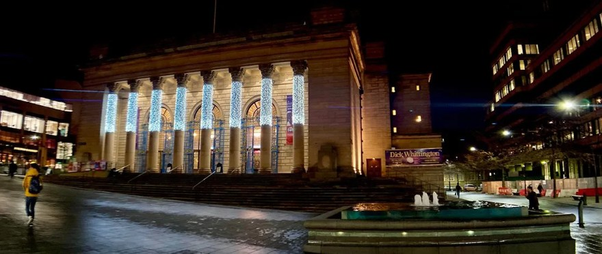 Sheffield City Hall in the Evening