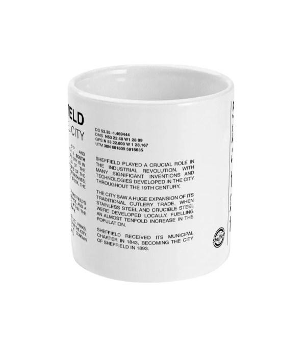 Sheffield Coordinates Alt 11oz Mug (White)