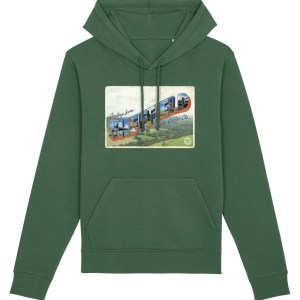 Greetings from Sheffield Hoodie (Bottle Green)