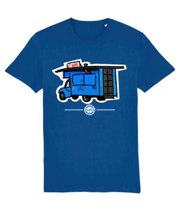 Greasy Veras Sheffield T-Shirt, Marjorelle Blue