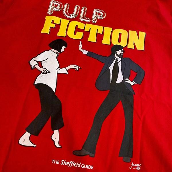 Pulp Fiction (Jarvis Cocker) T-Shirt Detail