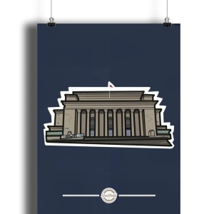 Sheffield City Hall Art Print