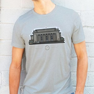 Sheffield City Hall T-Shirt, Heather Grey