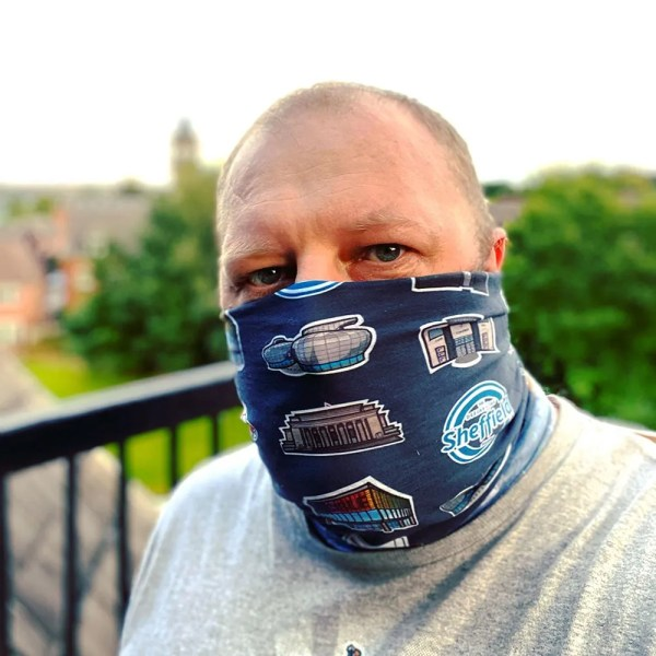 Sheffield Icons Multi-Pupose Morf (Face Covering/Scarf/Snood)