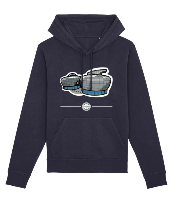 The Hubs: Sheffield Hallam Hoodie French Navy