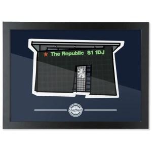 The Republic Framed Art Print