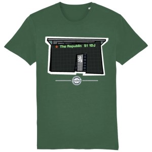 The Republic Sheffield T-Shirt, Bottle Green