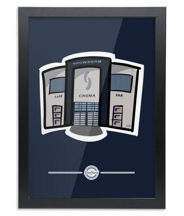 The Showroom Framed Art Print