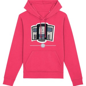 The Showroom Hoodie Raspberry