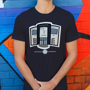 The Showroom Sheffield T-Shirt, French Navy