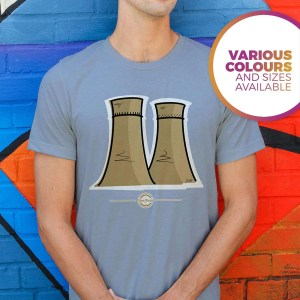 Tinsley Towers Sheffield T-Shirt, Sky Blue