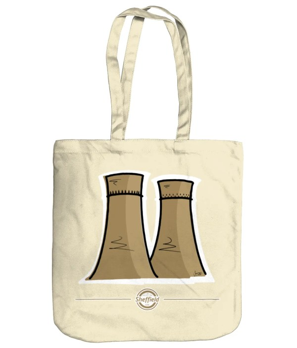 Tinsley Towers Sheffield Tote Bag