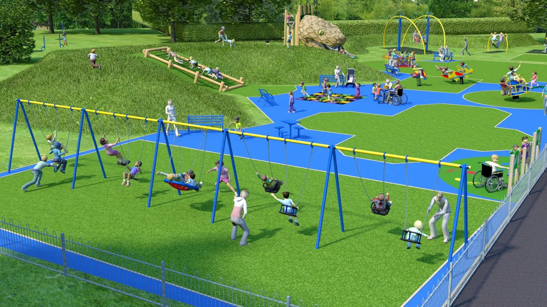 Hillsborough Park Children's Playground Upgrades: Proposed Upgrades