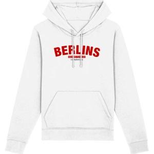 Berlins Sheffield Hoodie, White