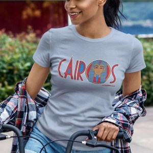 Cairos (Cairo Jax Nightclub) Sheffield Women's T-Shirt, Sky Blue