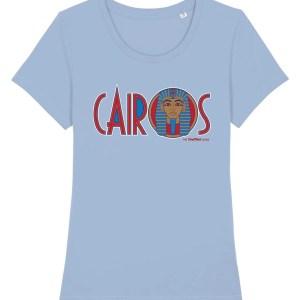 Cairos (Cairo Jax Nightclub) Sheffield Women's T-Shirt, Sky Blue