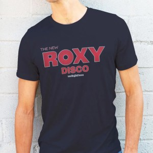 The New Roxy Disco T-Shirt, French Navy
