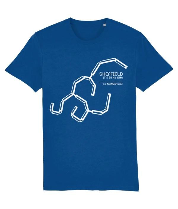 Sheffield DNA (Park Hill) T-Shirt, Majorelle Blue