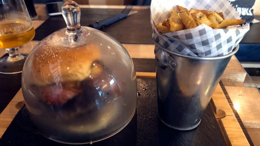 Smokin Bull Burger and Grill, Notorious PIG Burger