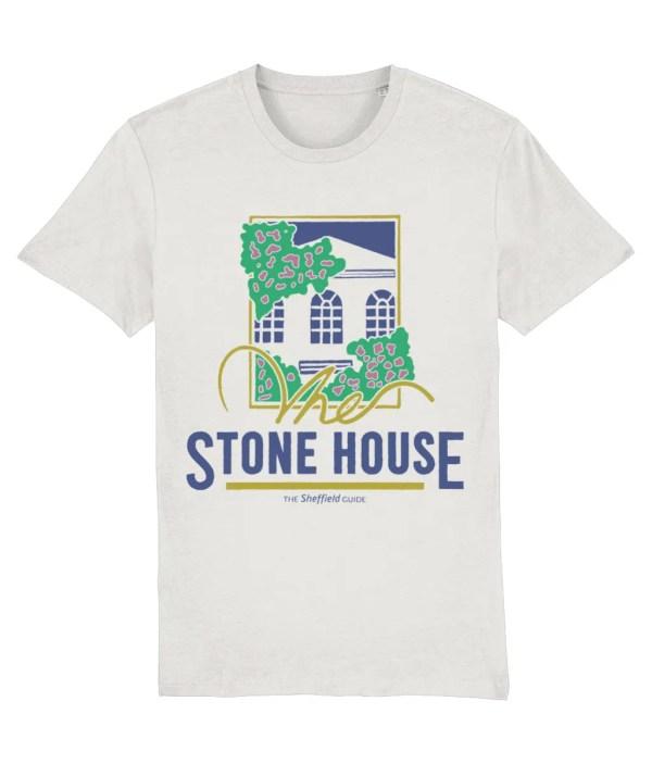 The Stone House Sheffield T-Shirt, Vintage White