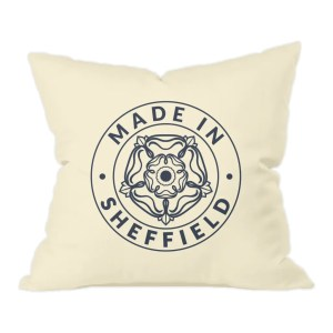 Made in Sheffield Natural Cushion