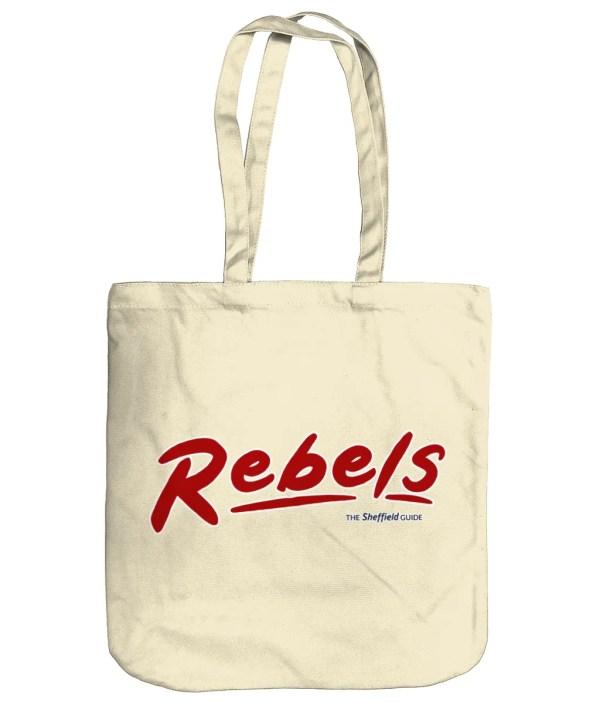 Rebels Rock Nightclub Sheffield Organic Tote Bag, Natural