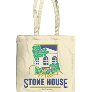 The Stone House Sheffield Organic Tote Bag, Natural