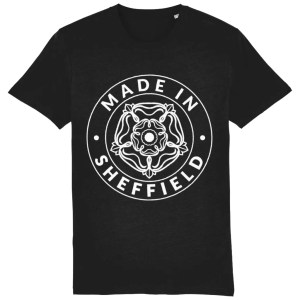 Made in Sheffield T-Shirt, Black