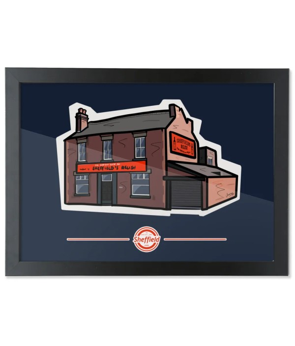 Sheffield's Relish Framed Art Print