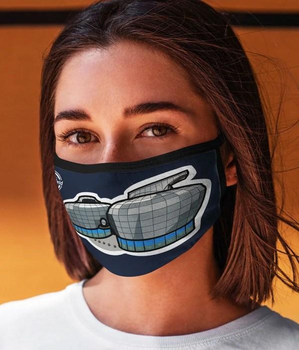The Hubs: Sheffield Hallam University Face Mask