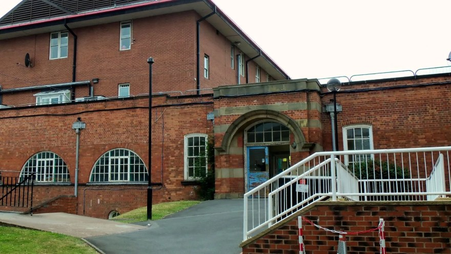 Vickers Corridor Entrance, Northern General Hospital, Sheffield