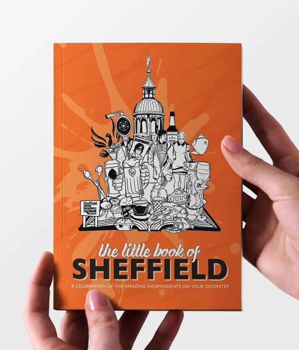 The Little Book of Sheffield Cover Mockup