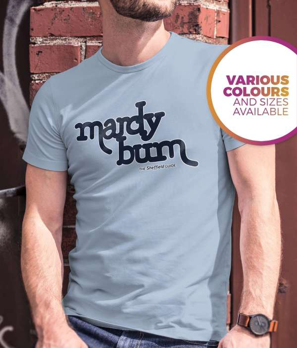 Mardy Bum (Arctic Monkeys) T-Shirt, Sky Blue