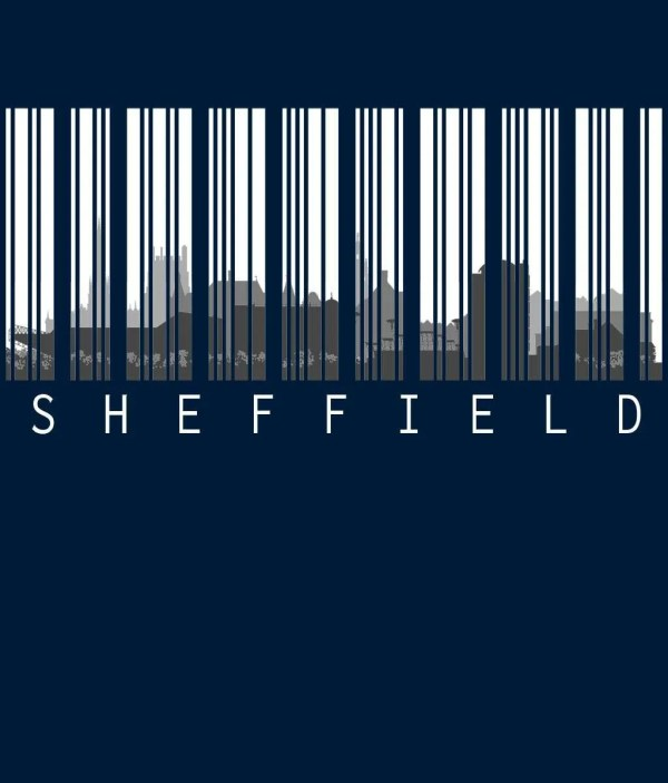 Sheffield Skyline Barcode Design Preview