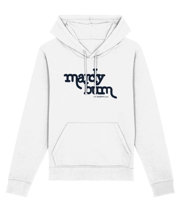 Mardy Bum Hoodie, White