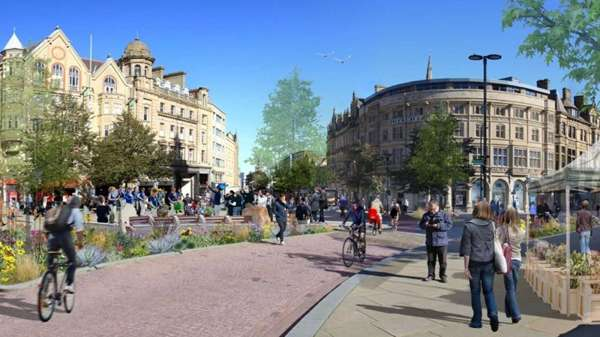 Plans for High Street and Fargate's 'Future High Streets' development
