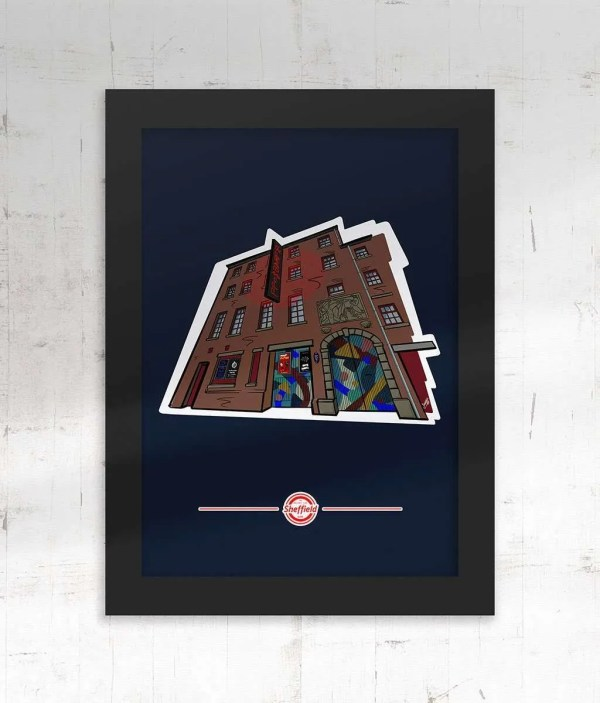 The Leadmill Sheffield Framed Print — Art by James