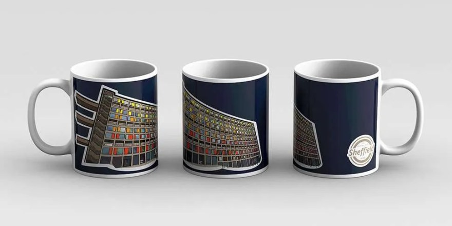 Park Hill Sheffield Mug — Art by James