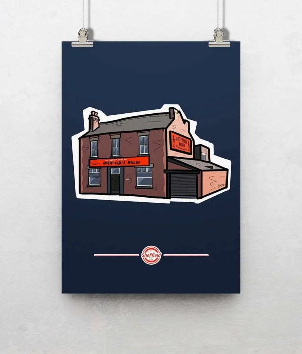 Sheffield's Relish Poster Print — Art by James
