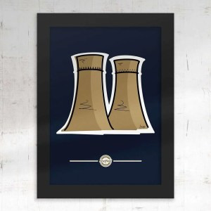 Tinsley Towers Sheffield Framed Print — Art by James