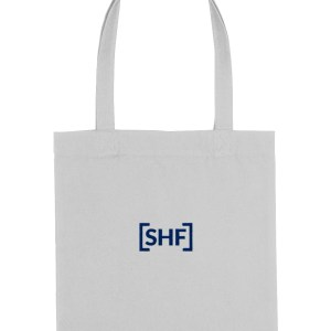 [SHF] Motif Embroidered Tote Bag, Heather Grey