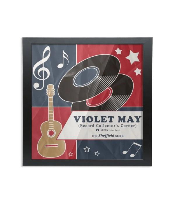 Violet May Sheffield Framed Art Print
