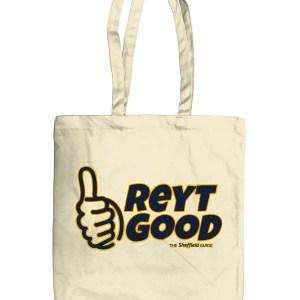 Reyt Good Sheffield Organic Tote Bag, Natural