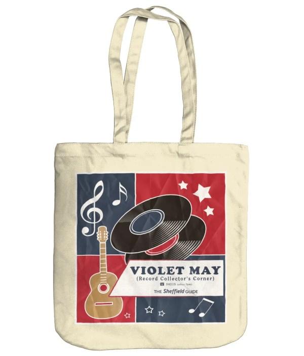 Violet May Sheffield Organic Tote Bag, Natural