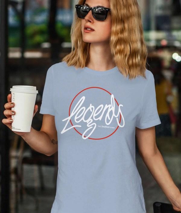 Legends Sheffield T-Shirt, Sky Blue