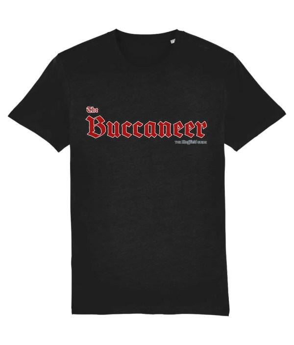 The Buccaneer Sheffield Pub T-Shirt, Black