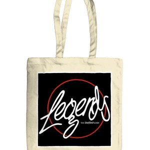 Legends Sheffield Organic Tote Bag, Natural