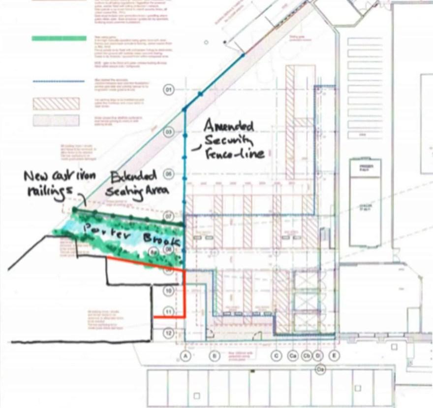 Proposed Amendments to Waitrose's E-Commerce Depot Plans.