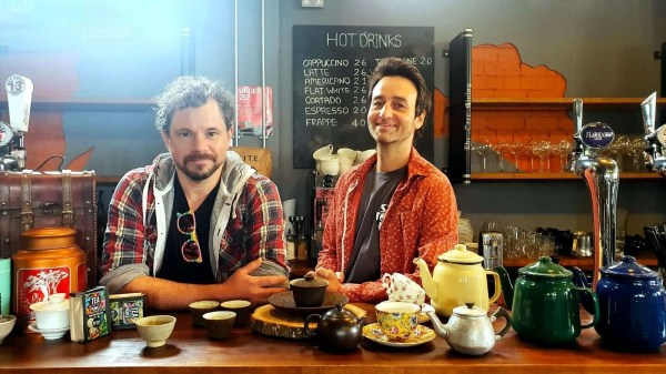 Marc and Owen from Batch Tea Co